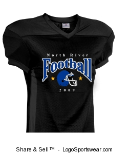 Adult Crunch Time Football Jersey Design Zoom